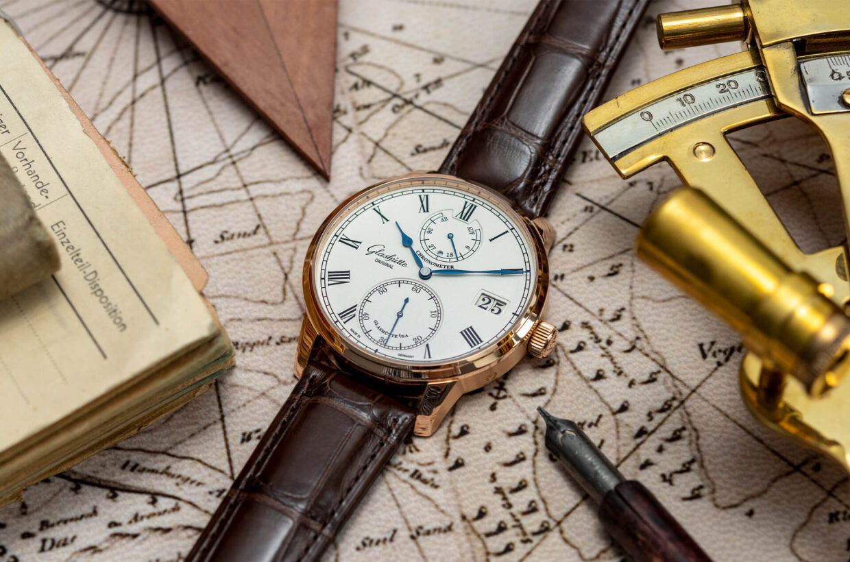 Classic and elegant watches These classically elegant timepieces reflect, with typical German functionality and understatement, the historic roots of Glashütte Original. Traditional design elements encounter mechanical complexity and distill the Saxon art of timekeeping to what is essential: the highest of all standards. Discover the Senator Collection