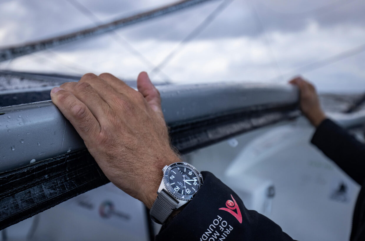 Ultimate endurance test Like the courageous adventurer, Glashütte Original is never content to rest on its laurels. Boris Herrmann has been accompanied on the Seaexplorer throughout the ultimate endurance test by the highly precise and reliable SeaQ Panorama Date.